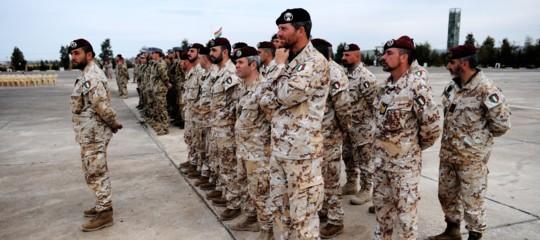 militari italiani estero numeri