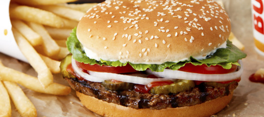 Burger King hamburger vegano