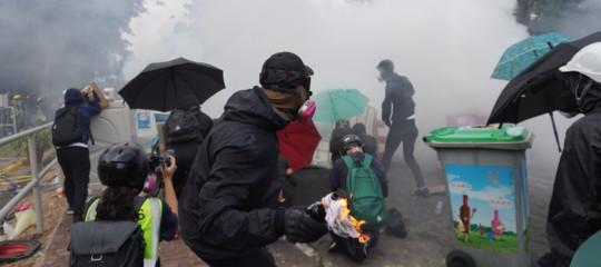 cina hong kong scontri terrorismo