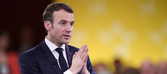 Francia protesta Macron