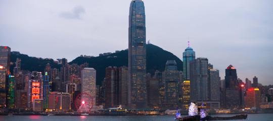 hong kongproteste economia