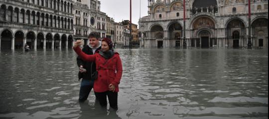 VeneziaSan Marco acqua alta