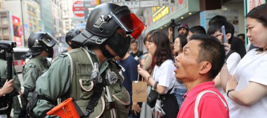 Hong Kong proteste Xi