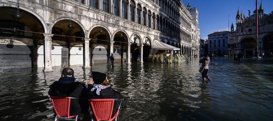 venezia San Marco acqua alta