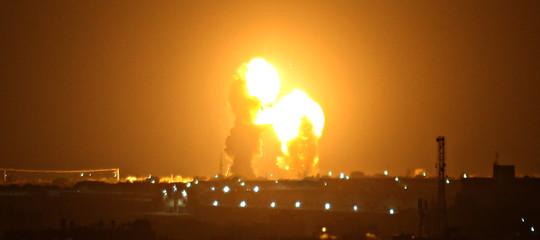 israele attacco hamas gaza