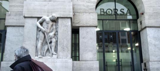 trimestrali aziende banche piazza affari