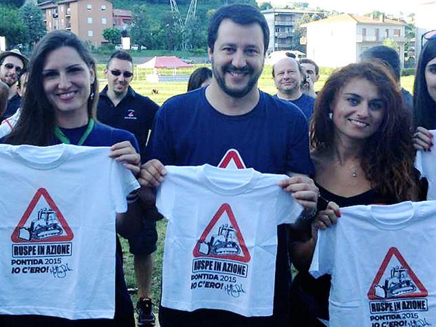 Lega: Salvini, Papa vede Rom? Spero anche esodati. Voglio Pontida a Sud