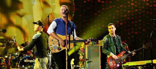 Musica Coldplaytour ambiente