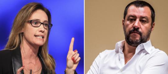 Cucchi Ilaria querela Salvini