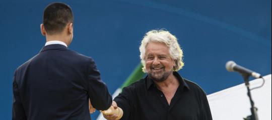 Grillo Di Maio contratto governo