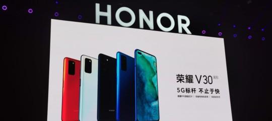 honor smartphone 5g