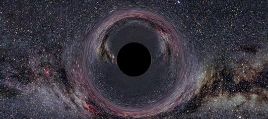 pianeti orbita buchi neri