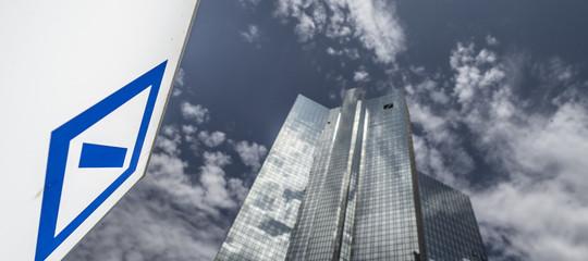 deutsche bank licenziamenti robot
