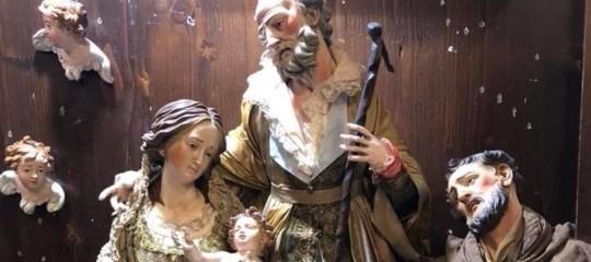 Papa Natale presepe san gregorio armeno ferrigno