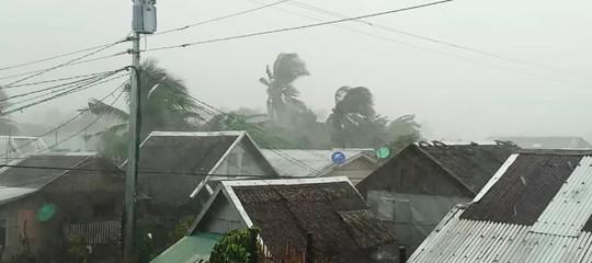 Filippine tifone Kammuri