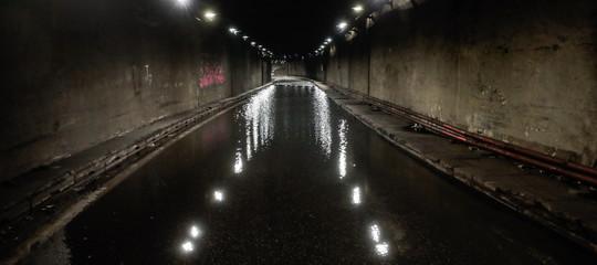 Maltempo Roma strade allagate