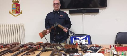 Eversione destra sequestro armi pentito