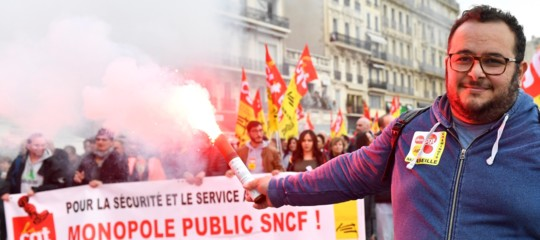 Francia sciopero treni pensioni macron