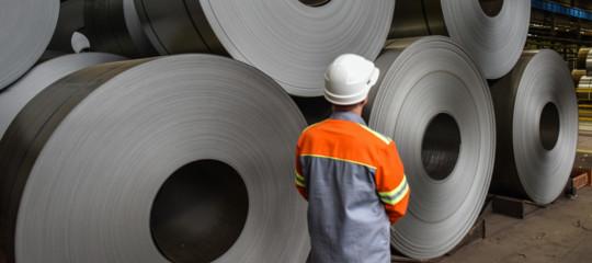 dati produzione acciaio