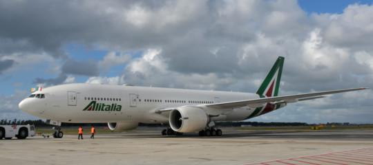 AlitaliaAtlantia delta fs