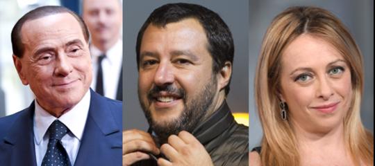 Salvini, Meloni e Berlusconi hanno trovato un accordo sui candidati alle Regionali