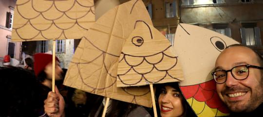 elly schlein sardine manifestazioni