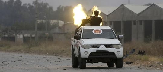 guerra civile libia haftar serraj