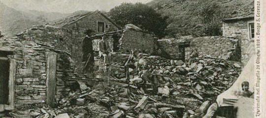 Terremoto Mugello 100 anni fa