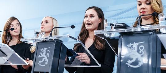donne leader governo mondo