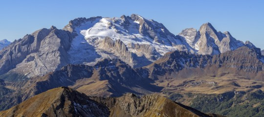 scioglimento ghiacciaio marmolada