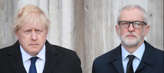 exit poll elezioni gran bretagna johnson corbyn