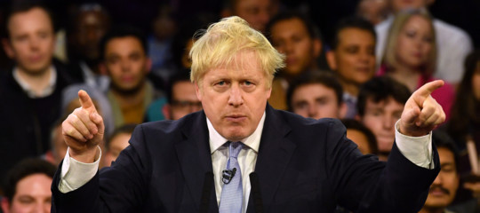 elezioni gran bretagna inghilterra johnson corbyn
