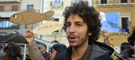 mattia santori sardine roma interviste
