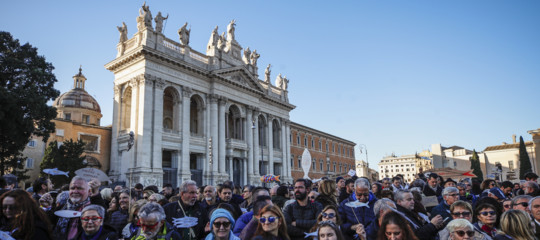sardine manifestazione roma