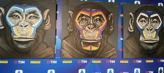 Calcio 3 scimmie Lega razzismo