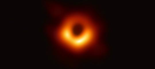 foto buco nero scoperta anno