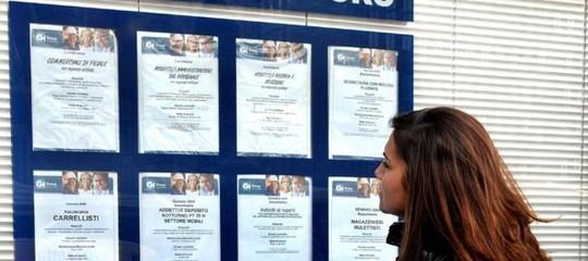 tasso disoccupazione lavoro giovani italia