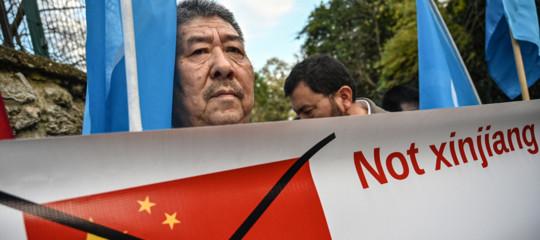 Cina Parlamento Ue uiguri