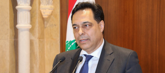 nuovo premier libano hassan diab