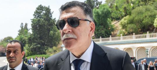 libia serraj chiede aiuto italia turchia