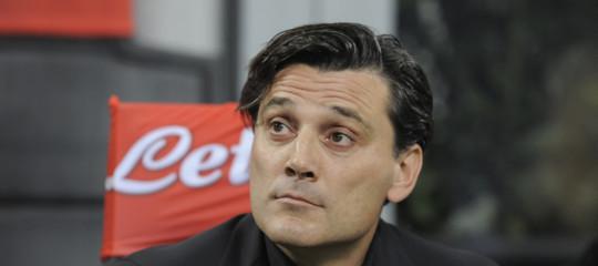 Calcio Vincenzo Montella esonerato Fiorentina