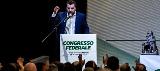 congresso lega salvini bossi statuto