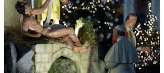 papa messa natale chiesa bergoglio