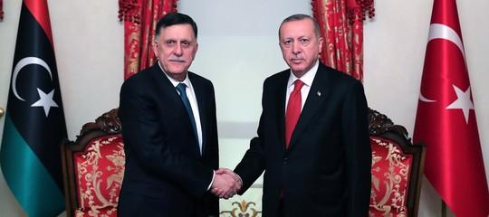 turchia intervento guerra libia erdogan