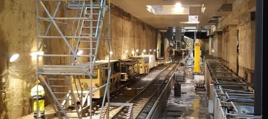 Raggi metro C stazione piazza venezia