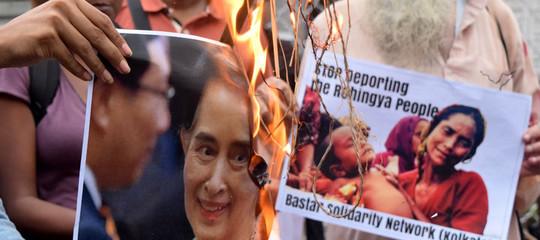 Myanmar condanna Onu RohingyaAung San Suu Kyi