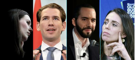 leader politici piu giovani mondo