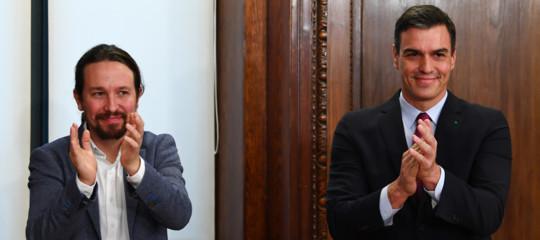 pedro sanchez nuovo governo spagna catalogna