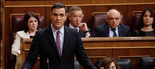 spagna sanchez questione catalana