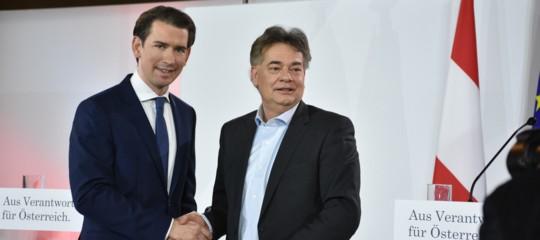austria governo kurz con verdi